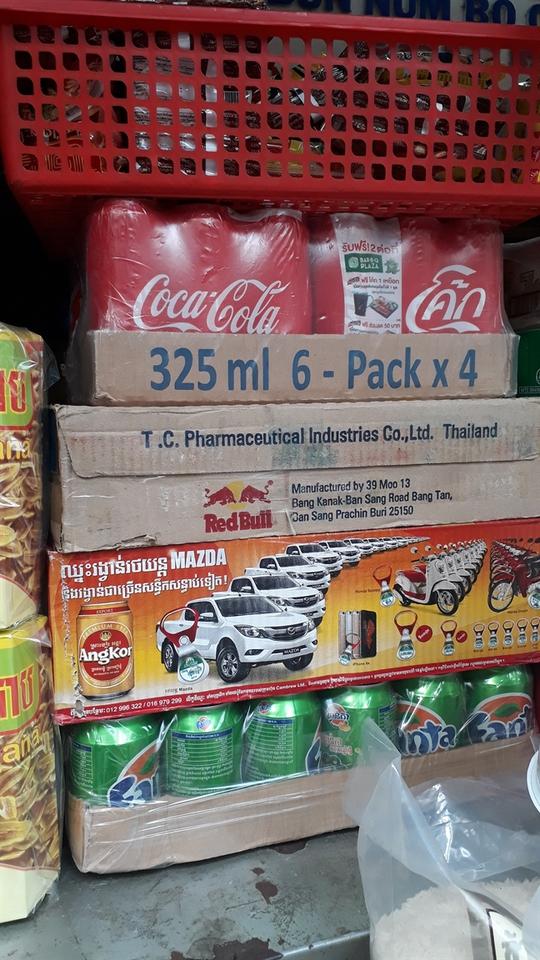 Đặc sản Thái Lan, Campuchia đổ bộ chợ truyền thống - Ảnh 2.