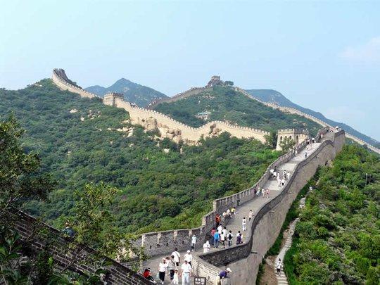 Trung Quốc: Đường sắt cao tốc chạy ngầm dưới Vạn Lý Trường Thành - Ảnh 2.