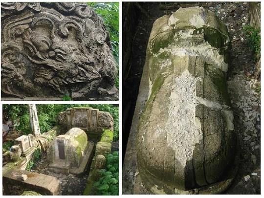 Ngôi mộ bí ẩn dưới chân đường cao tốc Long Thành - Ảnh 1.