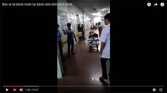 Truy nã đối tượng gây rối trật tự tại Bệnh viện tỉnh Ninh Bình - Ảnh 1.