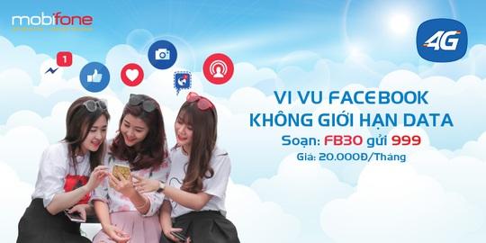 """Là """"tín đồ"""" Facebook bạn nên đăng ký ngay gói cước FB30 của MobiFone - Ảnh 1."""