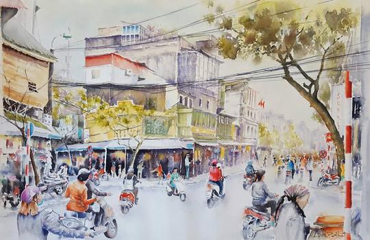 Họa sĩ Pháp triển lãm tranh về Việt Nam tại bảo tàng quê nhà - Ảnh 9.