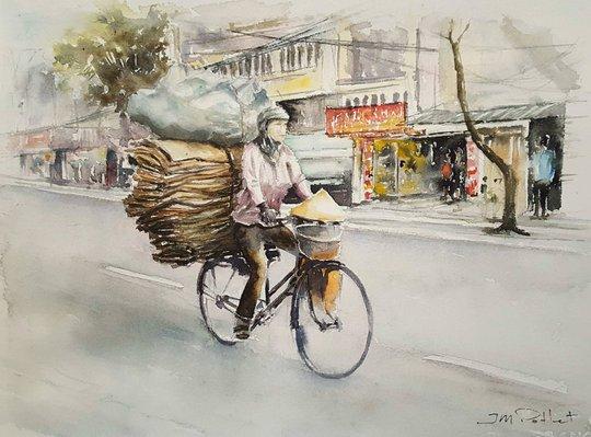 Họa sĩ Pháp triển lãm tranh về Việt Nam tại bảo tàng quê nhà - Ảnh 14.