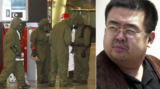 Chất độc VX từng được dùng để ám sát ông Kim Jong-nam. Ảnh: AP