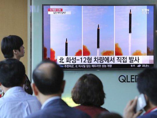 Triều Tiên di chuyển nhiều tên lửa  - Ảnh 1.