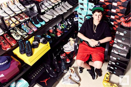 Mới 16 tuổi đã kiếm được hơn 22 tỉ đồng nhờ bán sneaker quý hiếm - Ảnh 1.