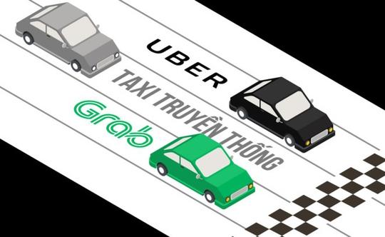 Không để taxi truyền thống đơn độc trước Uber, Grab - Ảnh 1.