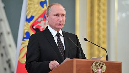 Ông Putin tuyên bố tranh cử tổng thống nhiệm kỳ thứ tư - Ảnh 1.