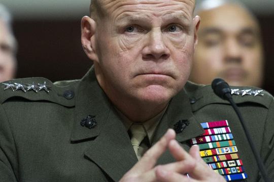 Tướng Mỹ bất ngờ k