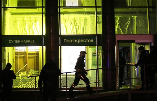 Nga: Nổ ở siêu thị, ít nhất 10 người bị thương - Ảnh 1.