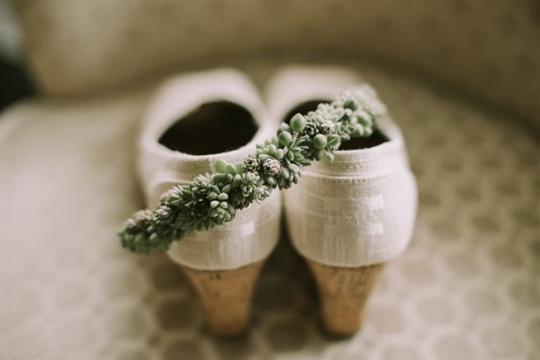 Trang sức bằng cây cảnh, mốt mới của cô dâu Mỹ