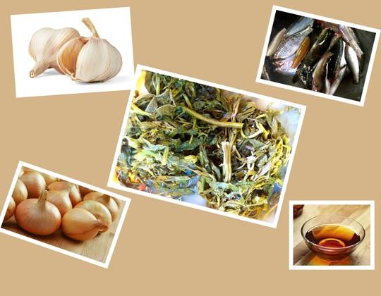 Canh rau sắn nấu cá: Đặc sản miền trung du Phú Thọ - Ảnh 4.