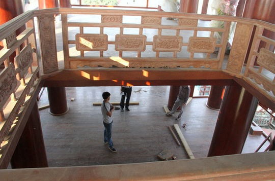Ngôi nhà toàn gỗ giá 30 tỉ đồng giữa TP Hà Tĩnh - Ảnh 3.