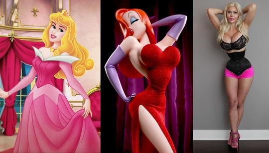 Phẫu thuật thẩm mỹ khiến mỹ nhân hóa ra nhân vật hoạt hình - Ảnh 3.