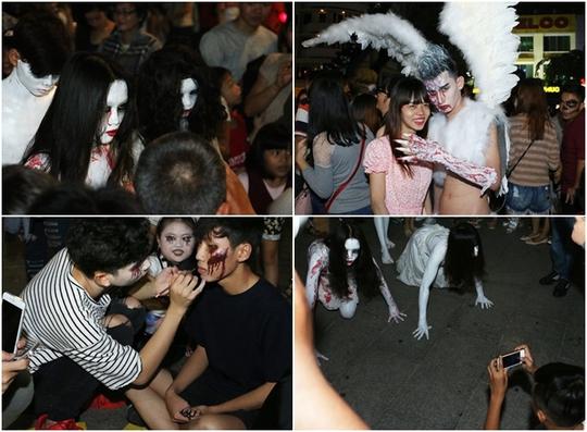 Gợi ý địa điểm 'quẩy' Halloween miễn phí ở Sài Gòn - ảnh 3