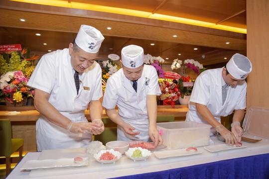 Cá ngừ vây xanh 300 triệu nhập từ chợ cá Nhật Bản - Ảnh 5.