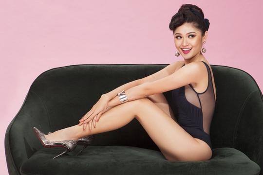 Á hậu ThùyDungquyến rũ trước thềm Hoa hậu Quốc tế 2017 - Ảnh 4.