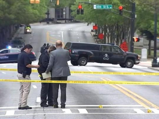 Giao lộ xảy ra vụ việc Ảnh: ABC NEWS