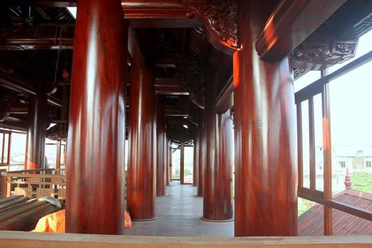 Ngôi nhà toàn gỗ giá 30 tỉ đồng giữa TP Hà Tĩnh - Ảnh 5.