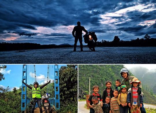 Chàng trai Việt dự định đi vòng quanh thế giới bằng xe máy - Ảnh 12.