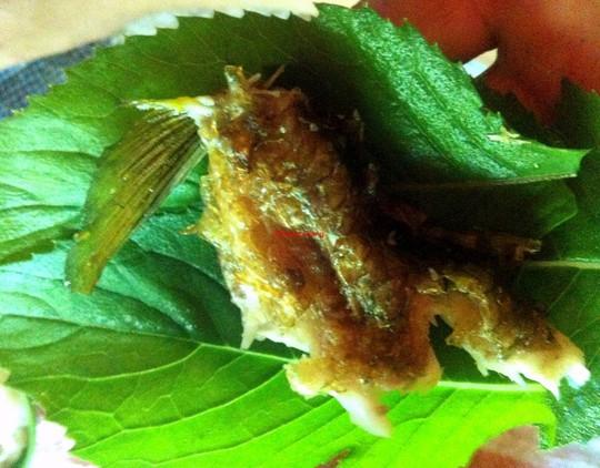 Ngon như cá suối chiên xù cuộn rau rừng - Ảnh 5.