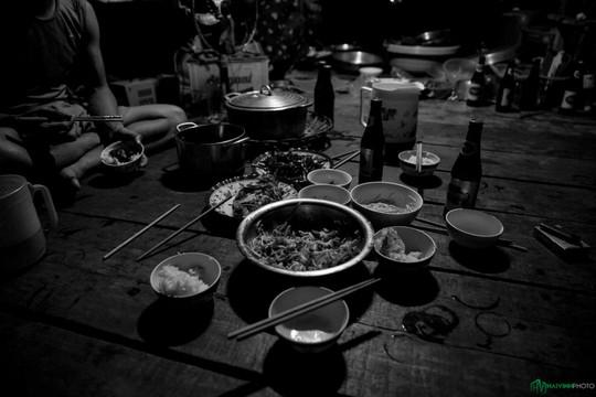 Bình minh tuyệt đẹp ở làng chài trên sông Đồng Nai - Ảnh 5.