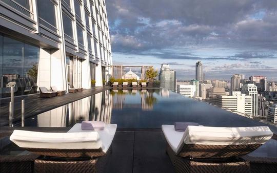 10 khách sạn có bể bơi sân thượng đẹp nhất - Ảnh 5.