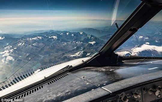 Ảnh châu Âu từ trên cao cực đẹp do phi công chụp từ buồng lái máy bay - Ảnh 5.