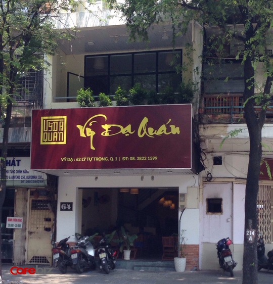 Tại TP HCM, the KAfe ở 64, Lý Tự Trọng đã đóng cửa sau tết dương lịch. Ảnh: Đỗ Lan.