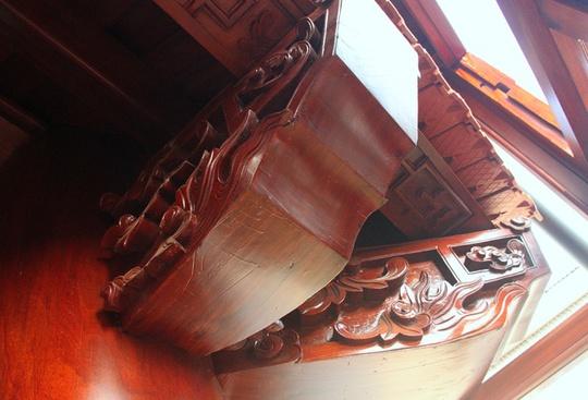 Ngôi nhà toàn gỗ giá 30 tỉ đồng giữa TP Hà Tĩnh - Ảnh 6.