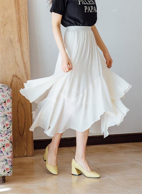 Những mẫu chân váy đáng có trong tủ áo vào dịp hè này - Ảnh 6.