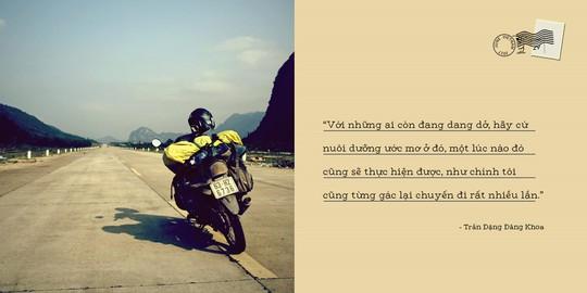 Chàng trai Việt dự định đi vòng quanh thế giới bằng xe máy - Ảnh 13.