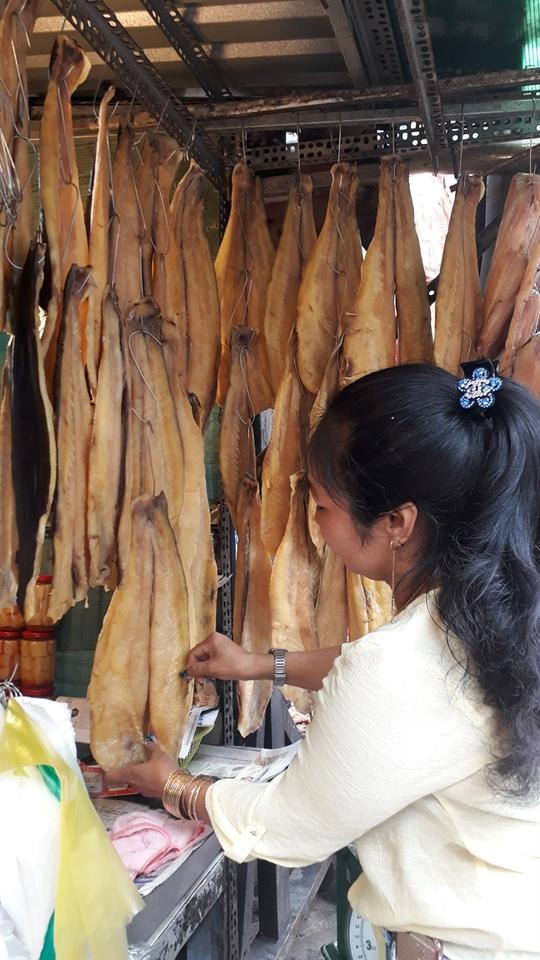 Đặc sản Thái Lan, Campuchia đổ bộ chợ truyền thống - Ảnh 6.