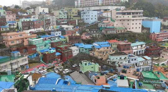 Những ngôi làng tranh tường hút hồn du khách ở Hàn Quốc