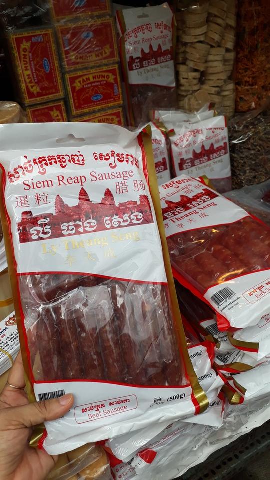 Đặc sản Thái Lan, Campuchia đổ bộ chợ truyền thống - Ảnh 7.