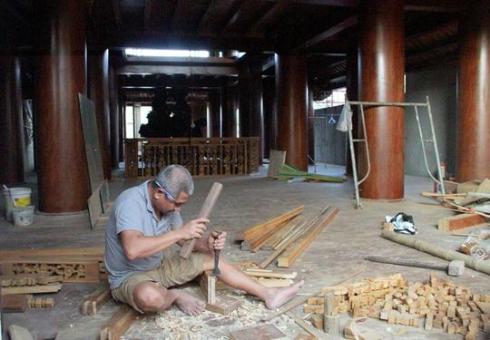 Ngôi nhà toàn gỗ giá 30 tỉ đồng giữa TP Hà Tĩnh - Ảnh 9.