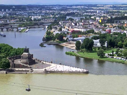 10 hợp lưu sông hùng vĩ trên thế giới - Ảnh 9.