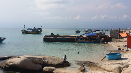 Trải nghiệm cuộc sống hoang dã trên đảo Cù Lao Câu - Ảnh 9.