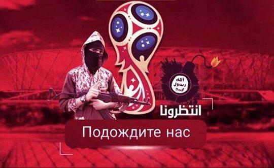 IS dùng ảnh máu Messi dọa tấn công World Cup 2018 - Ảnh 2.