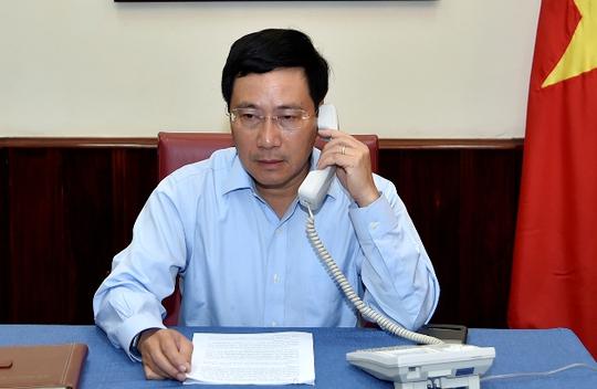 Đề nghị Indonesia khẩn trương điều tra vụ bắn tàu cá Việt Nam  - Ảnh 1.