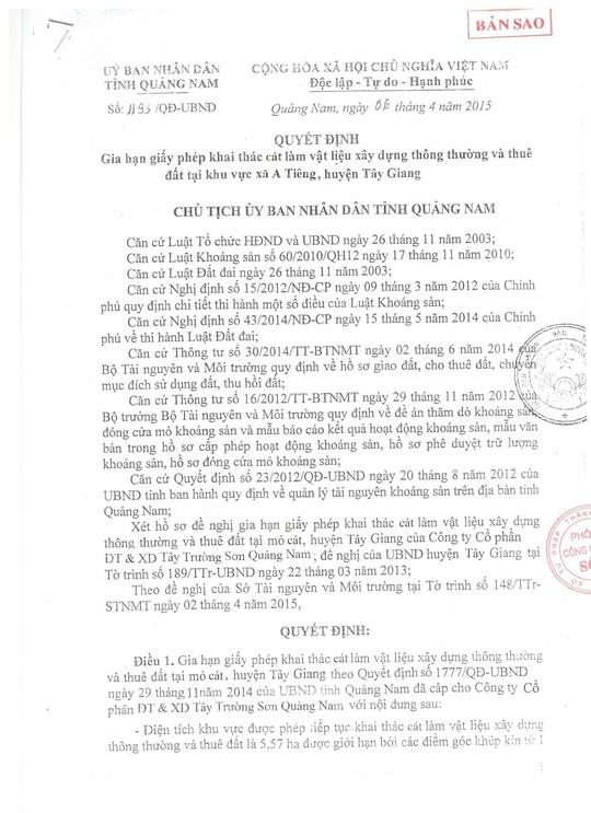 Nhà thầu dự án lấn biển Đà Nẵng lập khống hồ sơ?