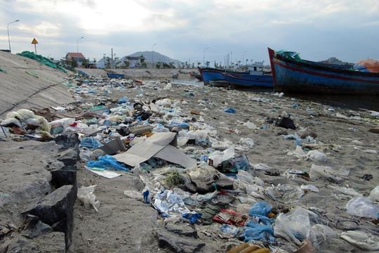 Bất lực nhìn biển Ninh Thuận ngập rác - Ảnh 3.