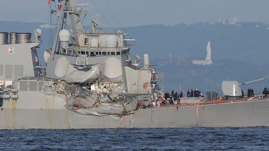 Tàu chiến Mỹ có lỗi trong vụ va chạm tàu hàng Philippines? - Ảnh 1.