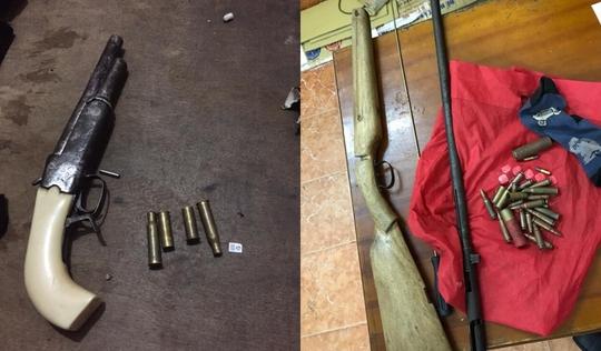 Bắt nhóm cướp dùng súng ở Hà Nội - Ảnh 1.