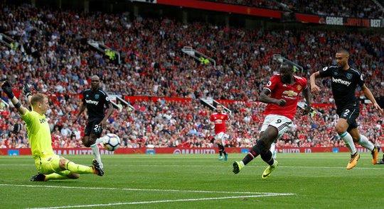 Lukaku lập cú đúp, M.U thắng tưng bừng West Ham - Ảnh 1.