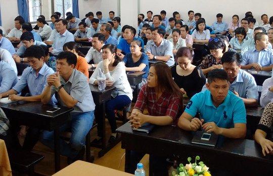 Học viên Tổng Công ty Cấp nước Sài Gòn tại lớp tập huấn