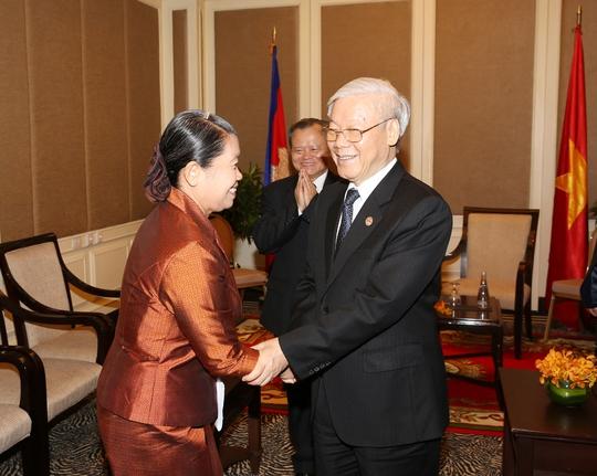 Vun đắp quan hệ Việt Nam - Campuchia - Ảnh 1.