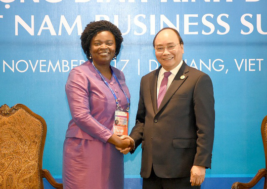 Thủ tướng mong Diễn đàn Kinh tế Thế giới làm nổi bật hình ảnh Việt Nam - Ảnh 2.