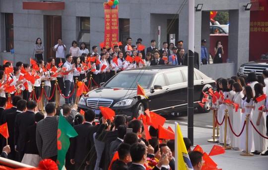 Tổng Bí thư, Chủ tịch Tập Cận Bình dự lễ khánh thành Cung hữu nghị Việt - Trung - Ảnh 3.