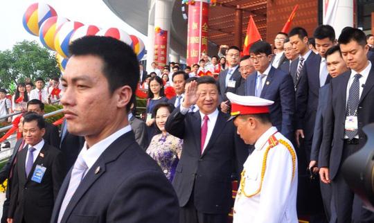Tổng Bí thư, Chủ tịch Tập Cận Bình dự lễ khánh thành Cung hữu nghị Việt - Trung - Ảnh 6.